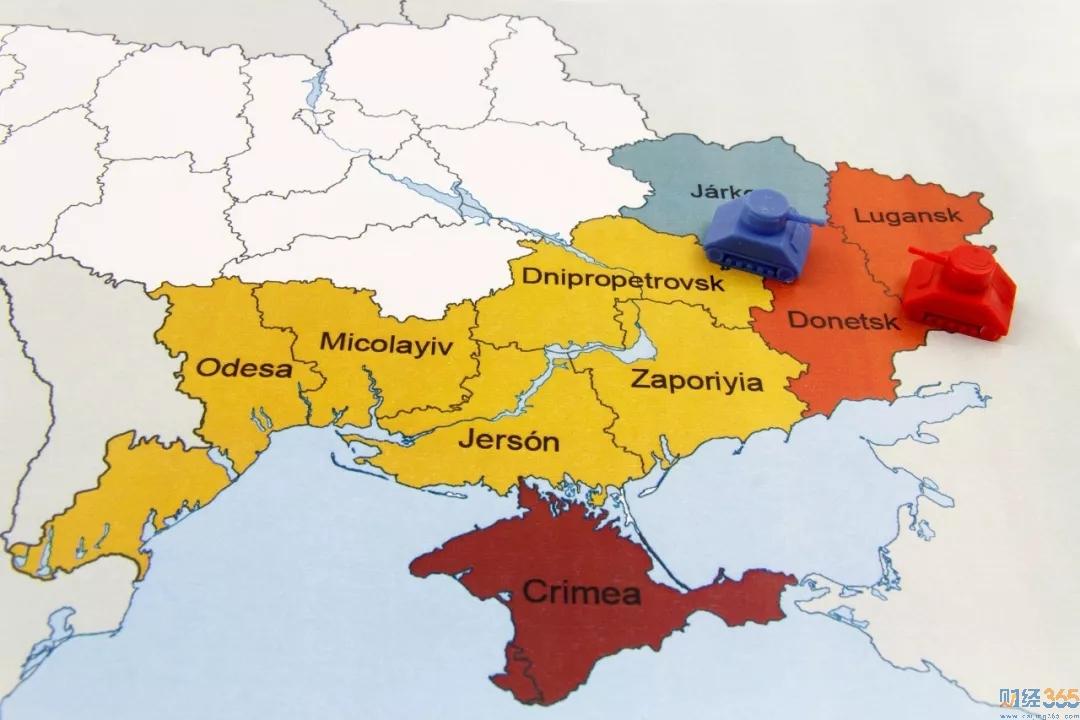 美俄打架,碍着乌克兰了